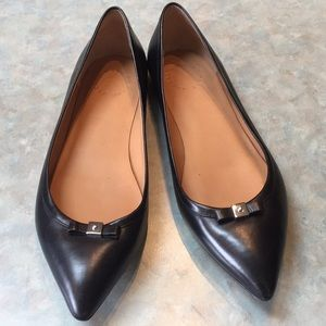 Marc by Marc Jacobs black leather flats